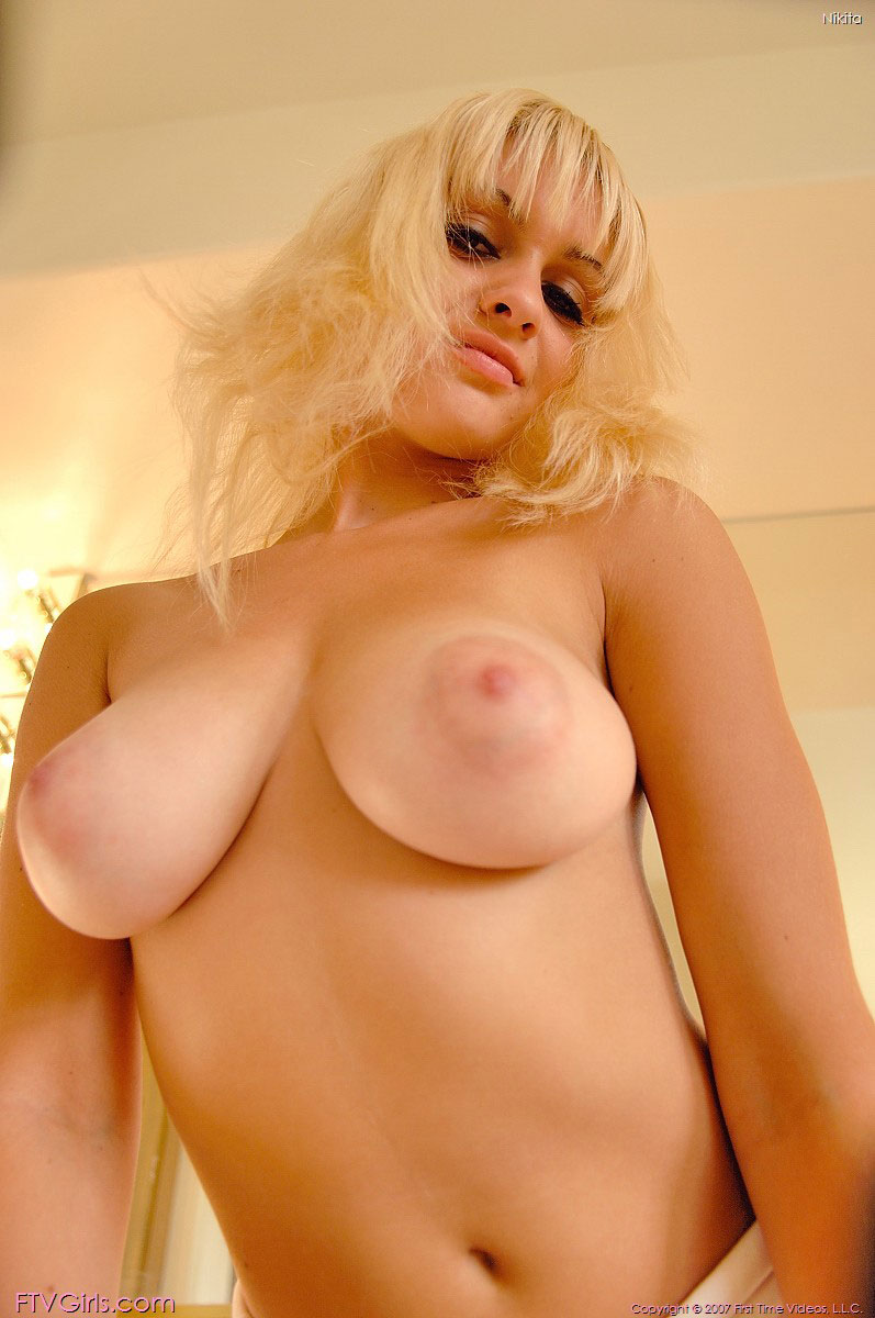 Blonde big gorgeous boobs women